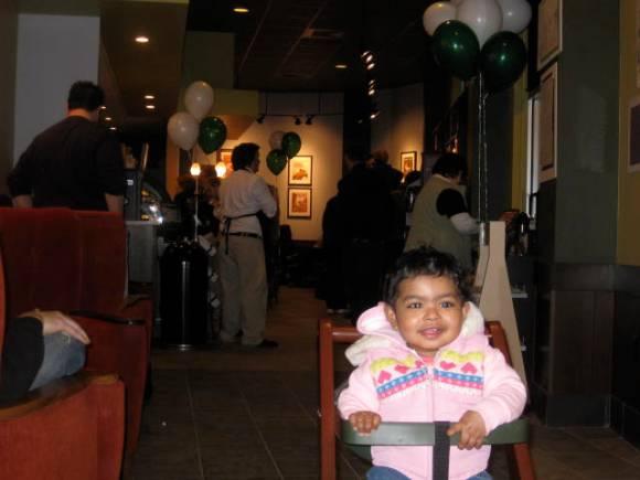 Starbucks Grand Opening