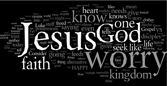 sermon wordle