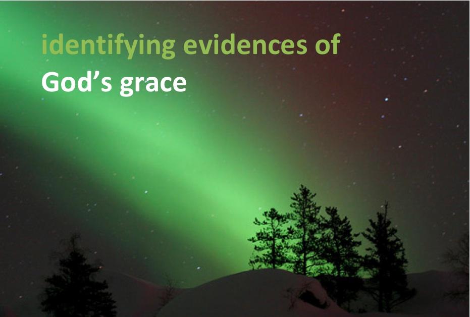 Evidences of Grace