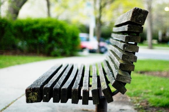 Oak_park_bench
